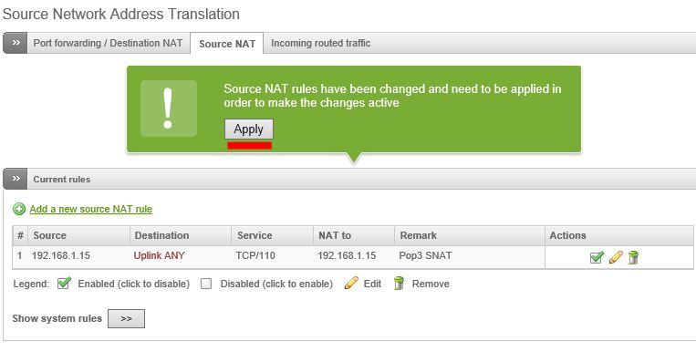 Source NAT – Basic Setup
